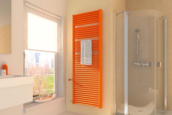 Radiatori per bagno un design moderno per il - Termosifone bagno ...