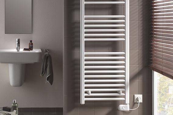 Radiateurs de salle de bain un chauffage moderne dans la for Reglementation electrique salle de bain